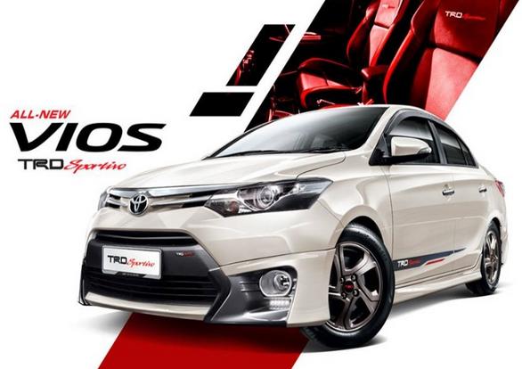 Cho thuê xe 4 chỗ Toyota vios giá rẻ nhất tại Hà Nội