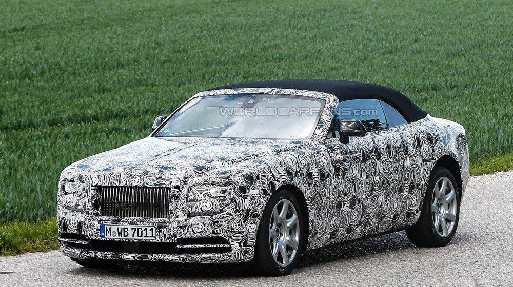 Rò rỉ 'ảnh nóng' của Rolls-Royce Dawn mui trần
