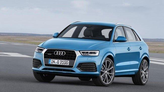 Công bố giá bán SUV hạng sang Audi Q3 2016