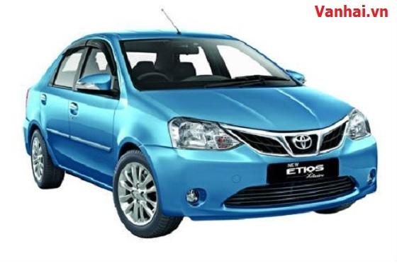Toyota trình làng mẫu sedan Etios Xclusive giá 263 triệu