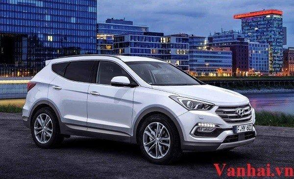 Cuốn hút với dàn Hyundai Santa Fe 2017 đầy ấn tượng