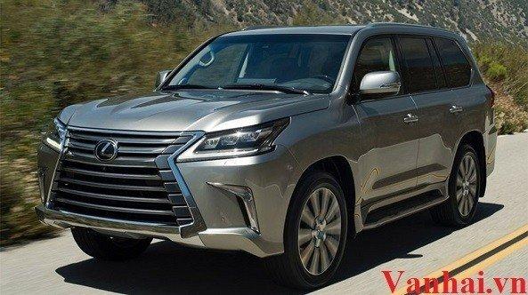 Lexus LX570 2016 chính thức cập bến tại Trung Quốc