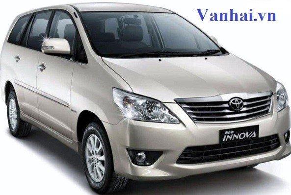Mẹo thuê xe 7 chỗ Toyota Innova giá rẻ nhất tại Hà Nội
