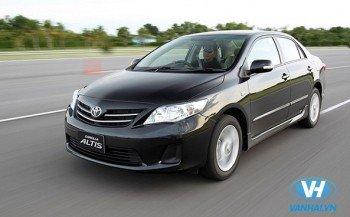 Cho thuê xe 4 chỗ toyota altis dài hạn giá rẻ tại Hà Nội