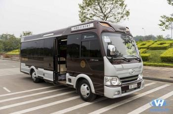 Cho thuê xe Huyndai Limousine 16 chỗ VIP giá rẻ Hà Nội
