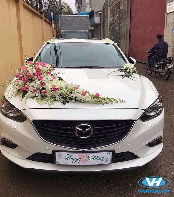 Cho thuê xe cưới mazda 6 giá rẻ Hà Nội