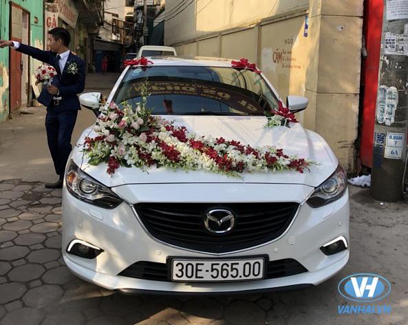 Dịch vụ cho thuê xe cưới mazda 6 giá rẻ nhất tại Hà Nội