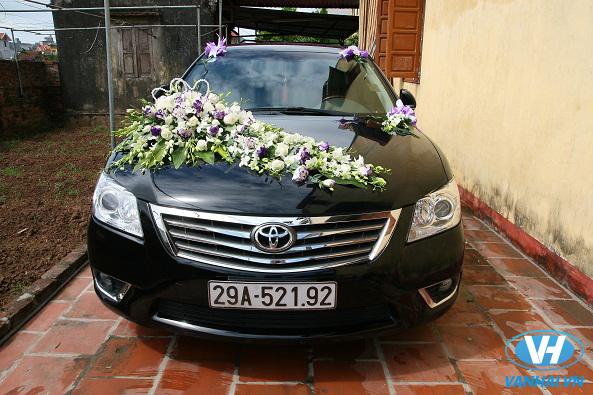 Các dòng xe cưới Camry tại Vân Hải