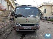 Cho thuê xe cưới 29 huyndai county giá rẻ tại Hà Nội