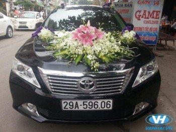Cho thuê xe cưới 4 chỗ Toyota Camry 2.5Q