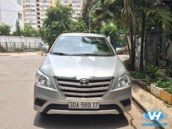 Cho thuê xe toyota innova dài hạn giá rẻ nhất tại Hà Nội