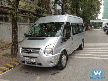 Cho thuê xe 16 chỗ Ford transit giá rẻ nhất Hà Nội