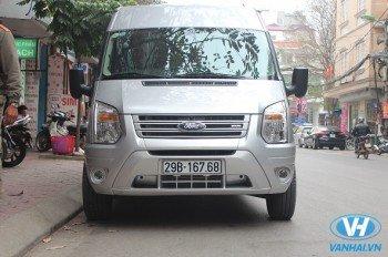 Cho thuê xe 16 chỗ Ford transit đời mới giá rẻ nhất tại Hà Nội