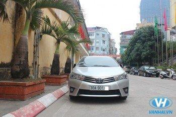 Cho thuê xe Toyota Corolla Altis đời 2016 giá rẻ