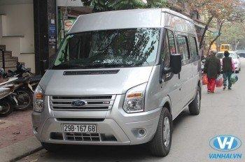 Cho thuê xe 16 chỗ theo tháng Ford transit