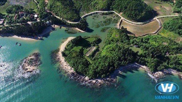 Vẻ đẹp của Đảo Cái Chiên Quảng Ninh