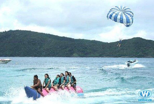 Hoạt động giải trí dưới nước