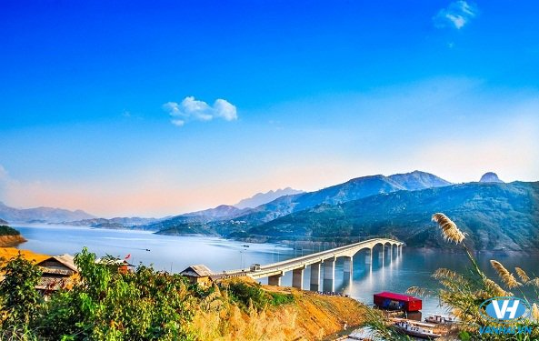 Cảnh đẹp nên thơ ở Quỳnh Nhai