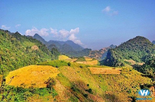 Khung cảnh mộc mạc của Quỳnh Nhai