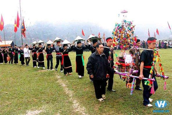 Lễ hội của người Tày đầu năm mới