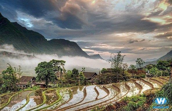 Hà Giang mùa nước đổ mang vẻ đẹp hút hồn, khó cưỡng