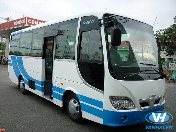 Dịch vụ cho thuê xe 35 chỗ Sammco của Vân Hải