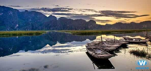 Khung cảnh thiên nhiên kỳ vĩ ở Vân Long