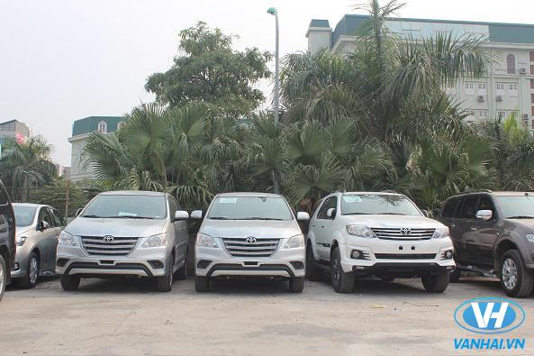 Thuê xe 7 chỗ theo tháng của công ty Vân Hải