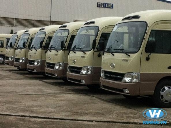 Dàn xe 29 chỗ chất lượng cao của Vân Hải