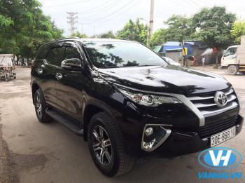 Cho thuê xe 7 chỗ Toyota Fortuner Hà Nội