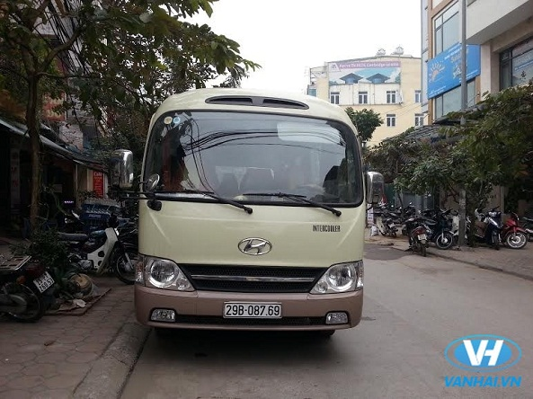 Thuê xe 29 chỗ của công ty Vân Hải