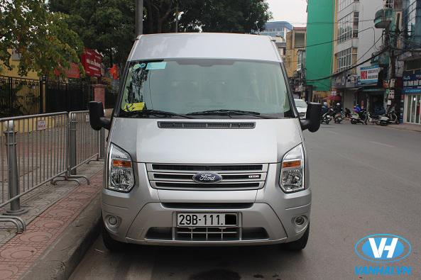 Thuê xe 16 chỗ của Vân Hải đi Yên Tử