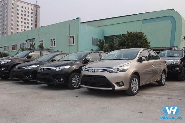 Dàn xe 4 chỗ hiện đại, đời mới của Vân Hải