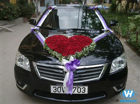 Xe cưới Mercedes trẻ trung, thời thượng