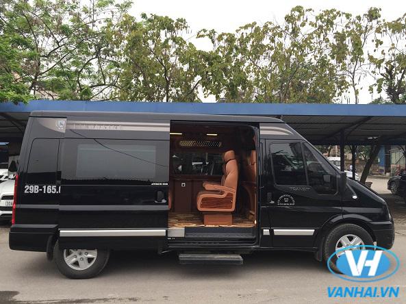 Dàn xe đời mới hiện đại của Vân Hải phục vụ du lịch