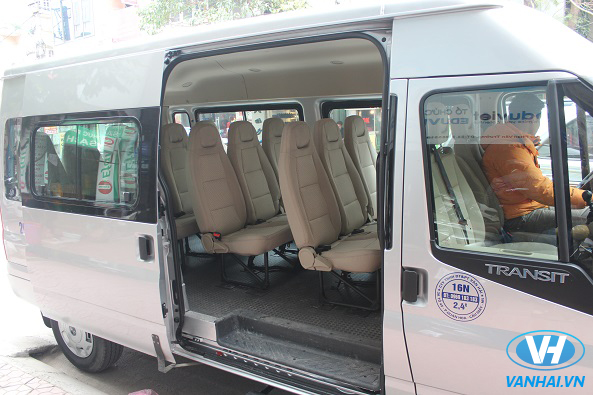 Tận hưởng chuyến đi thoải mái với dịch vụ xe Vân Hải