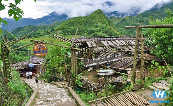 Lựa chọn các bản làng xinh đẹp cho chuyến đi