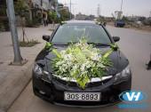 Địa chỉ cho thuê xe cưới 4 chỗ Honda Civic giá rẻ Vân Hải