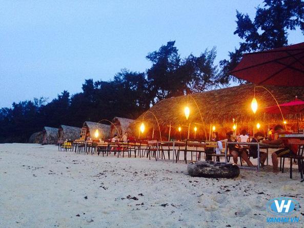 Bãi biển Hồng Vàn – Điểm du lịch thiên đường của Cô Tô