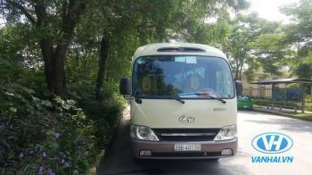 Dịch vụ  thuê xe 29 chỗ Huyndai County giá rẻ Hà Nội