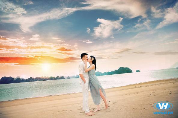 Hoàng hôn trên biển đẹp nao lòng