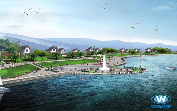 Hồ Đại Lải trong xanh