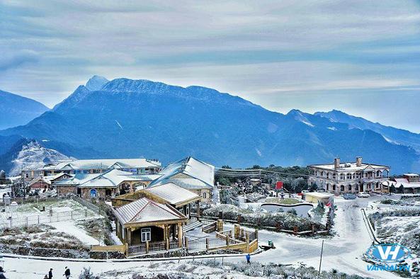 Thời điểm tháng 12 Mẫu Sơn bắt đầu vào mùa đông