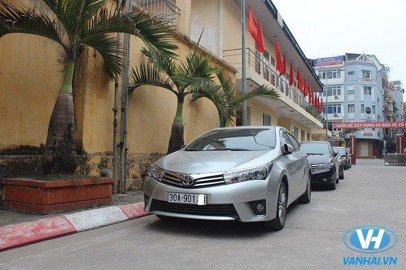 Vân Hải cho thuê xe ô tô du lịch giá cạnh tranh
