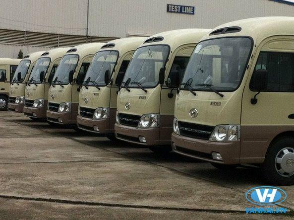 Nhu cầu thuê xe 29 chỗ có tài xế tại Hà Nội ngày càng tăng cao