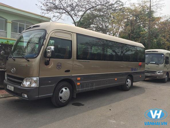 Cho thuê xe 29 chỗ có tài xế ở đâu giá rẻ nhất Hà Nội