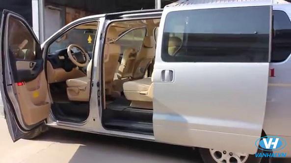 Thiết kế hiện đại của dòng xe hyundai starex 9 chỗ