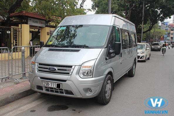 Công ty Vân Hải cung cấp dịch vụ thuê xe 16 chỗ chuyên nghiệp