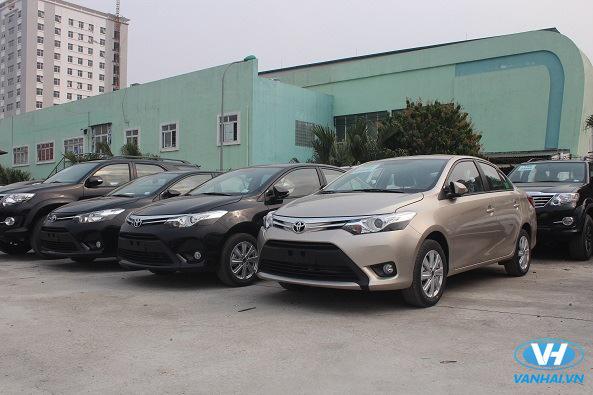 Dịch vụ cho thuê xe 4 chỗ theo tháng giá rẻ của Vân Hải
