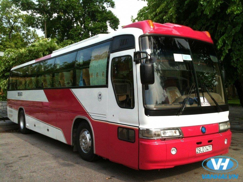 Vân Hải là đơn vị uy tín cho thuê xe 45 chỗ du lịch hà nội